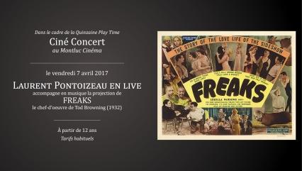 cine concert - freaks